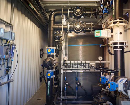 Chemically Enhanced Dual Media Water Treatment Plant
