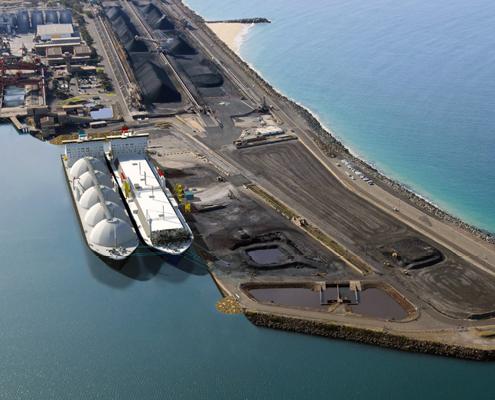 Port Kembla Gas Terminal - Liberty Industrial Demolition and Remediation